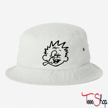 nose pick bucket hat