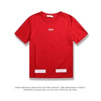 Cheap Women's and men's OFF-WHITE t shirt for sale 85902898_0207
