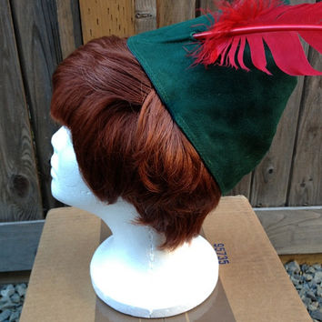 Peter Pan Park Look Classic Wig and Hat Screen Quality Custom Couture Styled