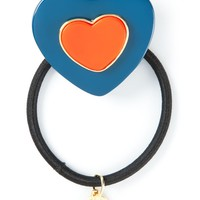 Marc By Marc Jacobs heart-shaped hair tie