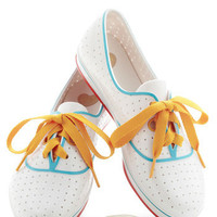 We'll Have a Wiffle Ball Sneaker | Mod Retro Vintage Flats | ModCloth.com