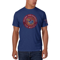 '47 Brand Kansas Jayhawks Mens Short Sleeve Fashion T-Shirt - Royal