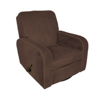 Komfy Kings, Inc 94011 Sunny Recliner Chocolate Micro