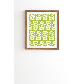 Heather Dutton Fern Frond Green Framed Wall Art