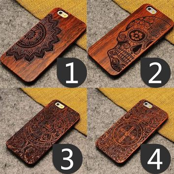 Unique Style High Quality Wooden Phone Case Capinha for iPhone X iPhone 8 iPhone 8 Plus IPhone 5/5S SE IPhone 6 6S 6/6S Plus 7 7
