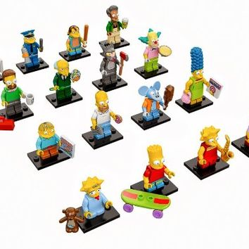 Lego 71005 The Simpson Entire Set of 16 Minifigures (2014)