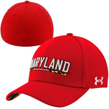 Under Armour Maryland Terrapins Pride Stretch Fit Hat - Red