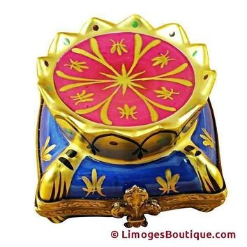 CROWN ON PILLOW LIMOGES BOXES