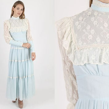 Gunne Sax Dress Jessica Mcclintock Boho Wedding Prai