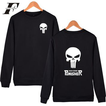Gothic Long Sleeve Sweatshirt Men Hoodies Hip hop Clothes Plus Size 4XL