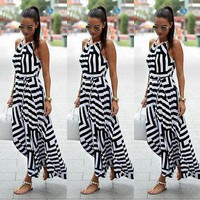 Women Sexy Summer Dress Maxi Long Dress Beach Dress Sundress Cover-Ups