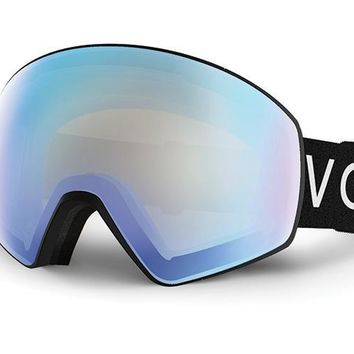 VonZipper - Jetpack Black Snow Goggles / Stellar Chrome Lenses