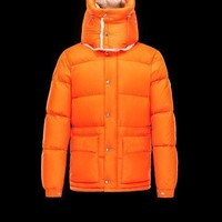 Mens Orange Moncler Cousteau Jacket