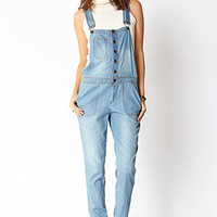 Life In Progress™ Chambray Overalls