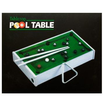 Mini Tabletop Pool Table: Pallet of 6776470