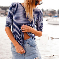 Stripe Long-Sleeve Shirt