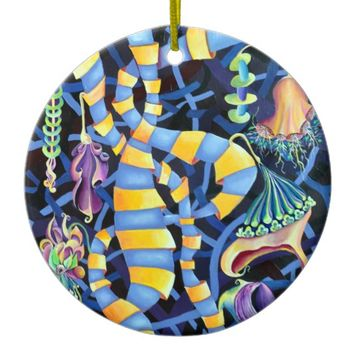 Luminescence Ceramic Ornament
