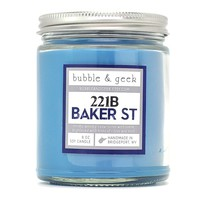 221B BAKER STREET SCENTED SOY CANDLE JAR