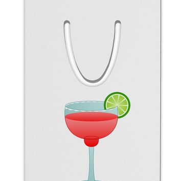 Red Margarita with Lime - Cinco de Mayo Aluminum Paper Clip Bookmark by TooLoud