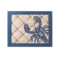 Lobster Pin Board Wood and Fabric