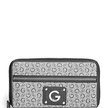 G By Guess Women's Faye Zip Around Wallet