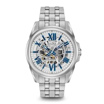 Bulova 96A187 Stainless Steel Automatic Mens Watch