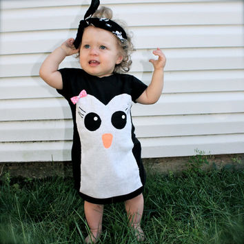toddler girls penguin dress