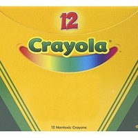"""Crayola 52-0836-038 Single Color Crayon Refill, 5/16"""" x 3-5/8"""" Size, Standard, Red"""