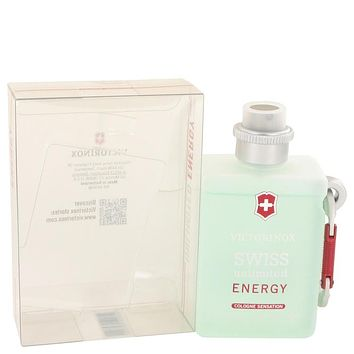 Swiss Unlimited Energy Cologne Spray By Victorinox For Men