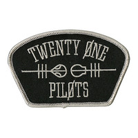 Twenty One Pilots Shoulder Logo Iron-On Patch