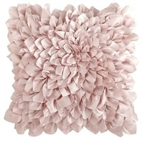 Floral Bloom Pillow - Rose