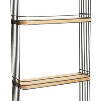 Crystal Art Gallery Metal & Wood Wall Shelf | Nordstrom
