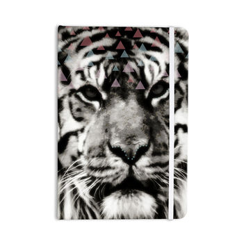 "Suzanne Carter ""Tiger Face"" Gray Animal Everything Notebook"