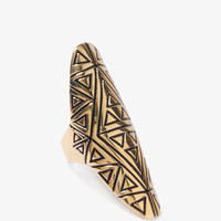 Lacquered Tribal Ring | FOREVER21 - 1000043340
