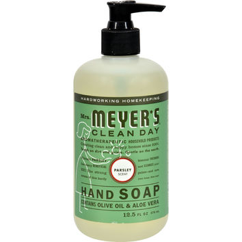 Mrs. Meyer's Liquid Hand Soap - Parsley - Case of 6 - 12.5 oz