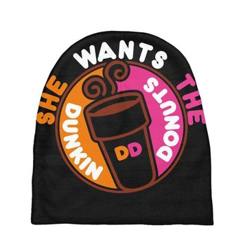 She Wants The D Dunkin Donuts Baby Beanies