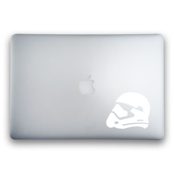 Star Wars Episode VII: The Force Awakens Stormtrooper Helmet Sticker for MacBooks and Apple Devices