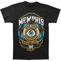 Memphis May Fire Men's  Unconditional Eye T-shirt Black