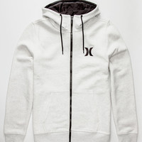 Hurley Surf Club Mens Hoodie White  In Sizes