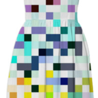 Pixelated No.1 created by House of Jennifer | Print All Over Me