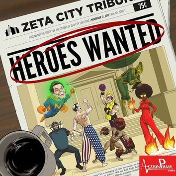 Heroes Wanted - Tabletop Haven