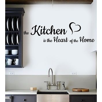 Vinyl Wall Decal Kitchen Quote Room Decoration Home Decor Stickers Mural (ig6044)