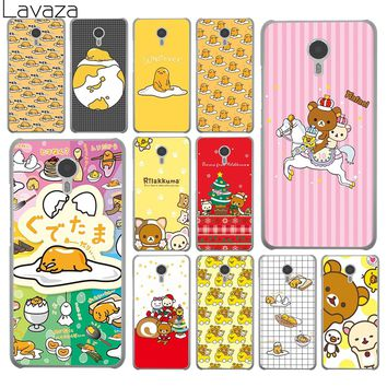Lavaza Lovely gudetama Rilakkuma More Emoji Hard Phone Shll Case for Meizu M6S M3 M3S M5 Mini M6 Note M5S M5C Back Cover