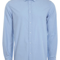 Light Blue Tailored Fit Shirt - Mens Shirts - Clothing