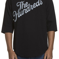 SHOP THE HUNDREDS | The Hundreds: Slant baseball 3/4-sleeve shirt