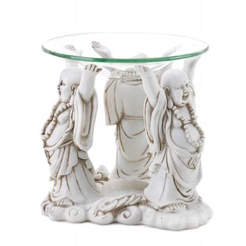Happy Buddha Oil Warmer