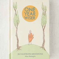 One Year Wiser: 365 Illustrated Meditations By Mike Medaglia