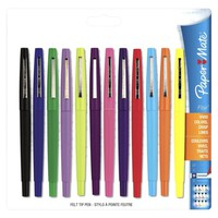 Paper Mate Flair 12ct Point-Guard Porous Point Pens - Assorted Colors