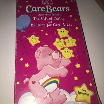 Care Bears  The Gift of Caring & Bedtime for Care A Lot VHS