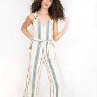 Bella Day Stripe Jumpsuit